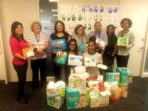 "Photo from Capwhn""s 3rd annual diaper drive"