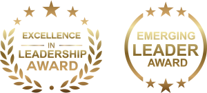 CAPWHN Excellence in Leadership and Emerging Leader Award icons
