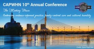 Winnipeg skyline image for CAPWHN September 24-26, 2020 Conference